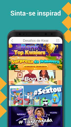 Kwai-Criar vídeos engraçados para WhatsApp Status screenshot 4