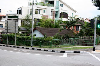 Photo: Year 2 Day 131 - Our Old House 109 Jalan Woodbridge (Now Dwarfed By Next Door House)