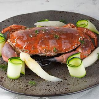 Steamed North Sea Crab