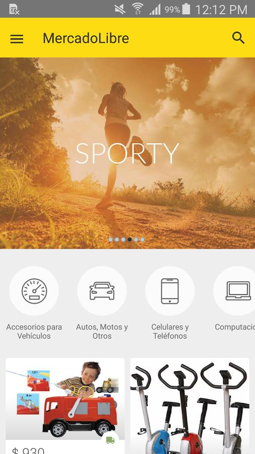 Mercado Libre- screenshot