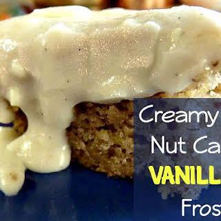 Creamy Banana Nut Cake with Vanilla Bean Frosting!.