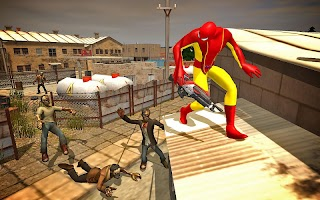 Spider vs Zombie Shooter 3D