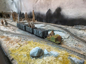 Photo: 113 A Simplex loco takes a train of loco coal to the Divisional Headquarters for winter fuel for the Officer's Mess .