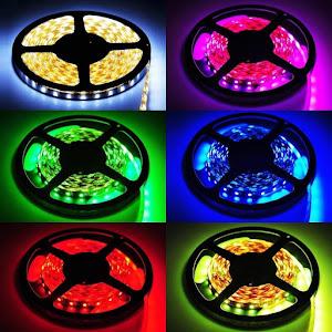 Banda LED RGB multicolor cu telecomanda 5 metri