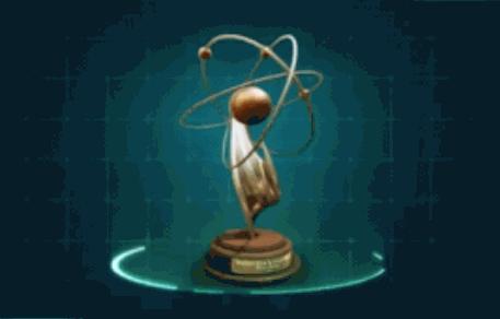 科学者のトロフィー