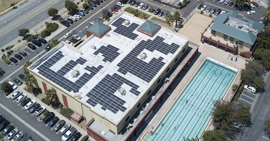 Kennedy Club Fitness - San Luis Obispo - 331.5 kW solar install progress
