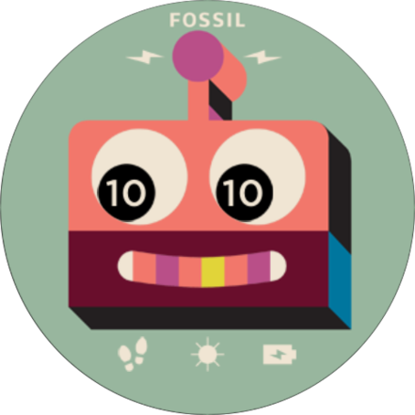 FOSSIL Q: DESIGN YOUR DIAL- screenshot