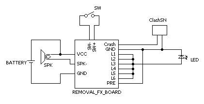 Photo: Removal FX conversion circuit