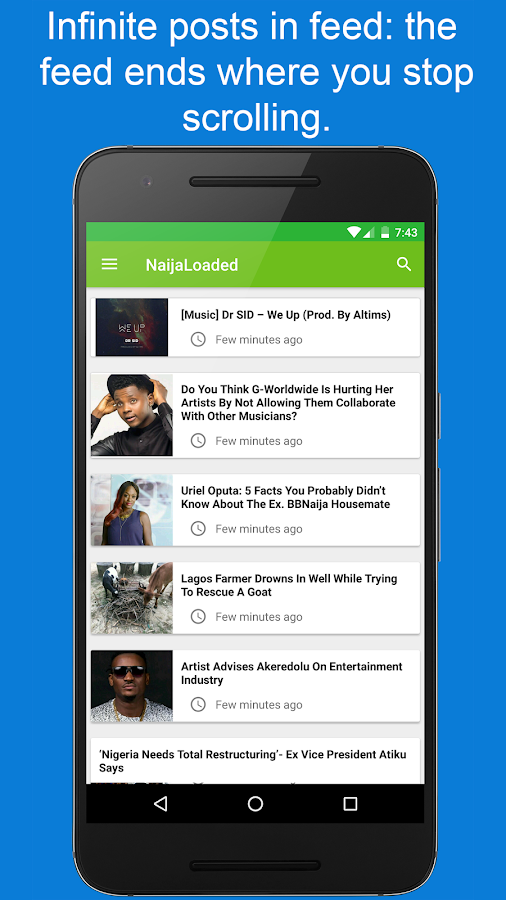 NaijaLoaded- screenshot
