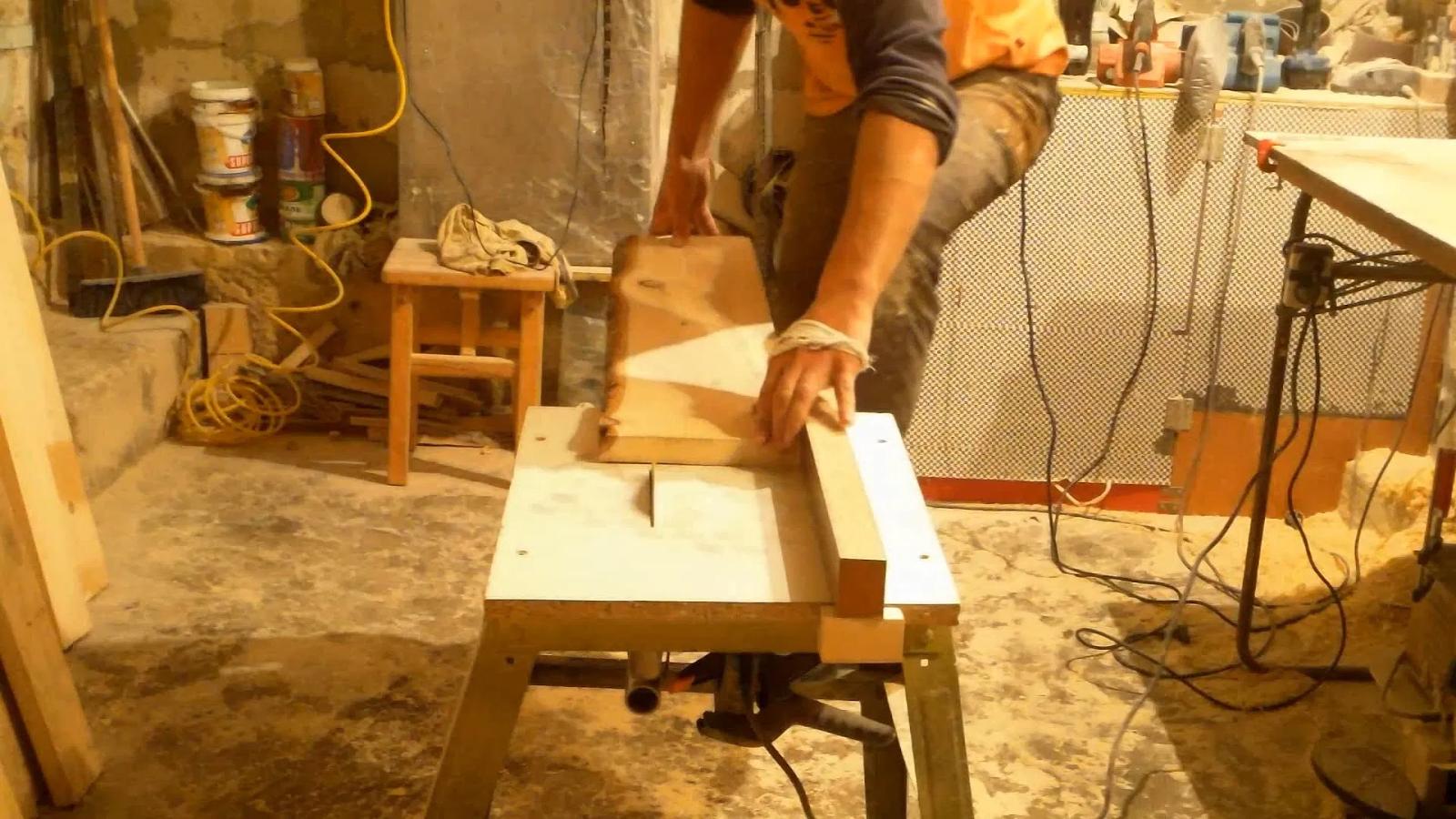 Сборка стола с подъемным механизмом