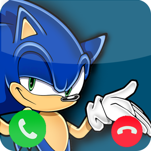 Call From Sonic Prank app (apk) free download for Android/PC/Windows