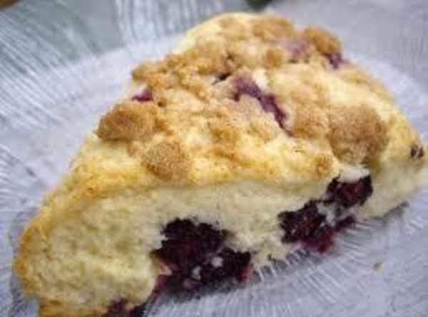 Blueberry Streusel Scones Recipe
