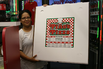 """Photo: Our Hot, Huge & Delicious 28"""" PiZza.  We cut it into about 32 four inch squares. That Feeds 10 to 12  This is a 5 lb dough ball, 24 ounces of sauce, and 36 ounces of Mozzarella and Wisconsin White Cheddar cheese!  A Hearty & Tasty Pizza, in the biggest monster pizza box you and your friends WILL EVER SEE.  ---- Pino`s Pizza Ocean City Maryland ---- Call 410-723-FAST (3278)-----------81st street Coastal Highway 10 minute Carry-out, or Fast Delivery to all of Ocean City"""