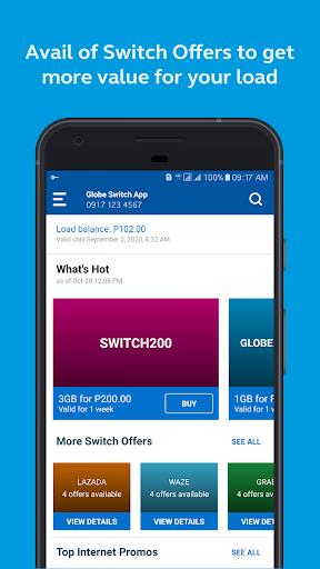 Globe Switch: Exclusive Data Offers & Rewards ss1