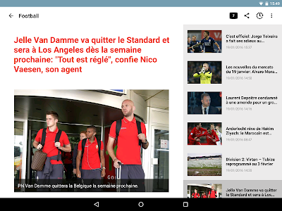 Sudpresse Sports screenshot 4
