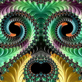 Face by Capucino Julio - Illustration Abstract & Patterns ( abstract, face, fractal, digital, design )