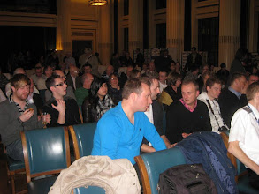 Photo: Part of the audience at the Council House
