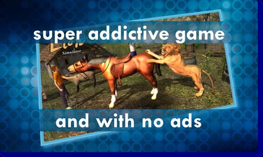 Wild Lion Sim 3D