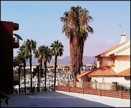Photo: vue d'une terrasse privée