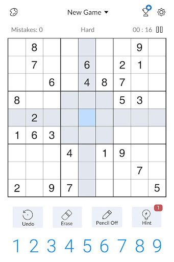 Sudoku - Free Classic Sudoku Puzzles screenshots 14