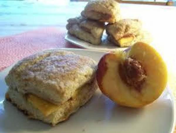 Peach Cobbler Scones Recipe