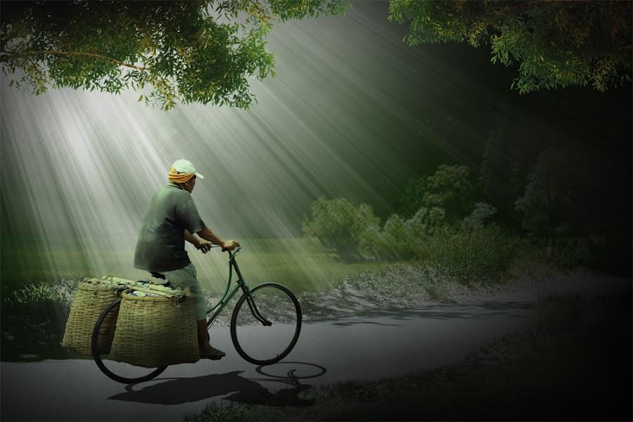 Hanya Pemulung by Ibnu opo Ipnu - Digital Art Places