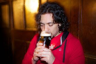 Photo: Guinness at Kavanagh's pub