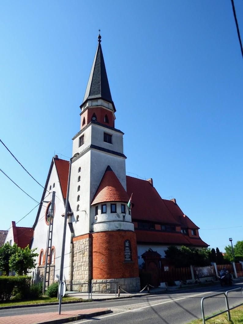 Tatabánya - Bánhidai református templom