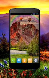 Red Mountain Pro Live Wallpaper 2.4.0 (Paid)
