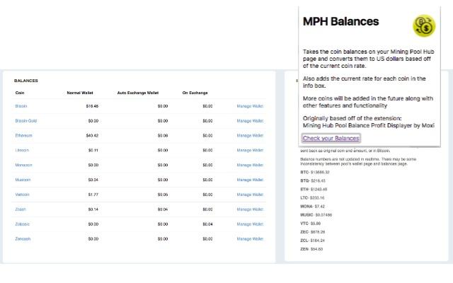 MPH Balance Converter