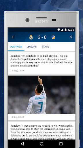 UEFA Champions League 1.46 screenshots 3