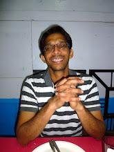 Photo: Ajit, waiting for his Chicken Biryani's near the Lonavla railway station.