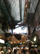 Photo: Kyoto train station.