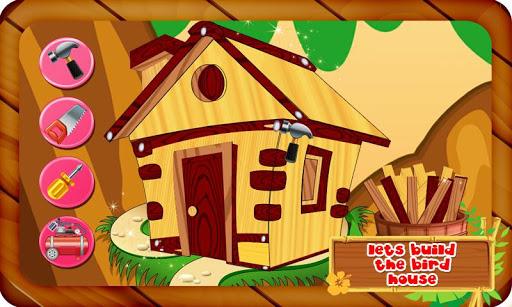 鳥の家を建てます
