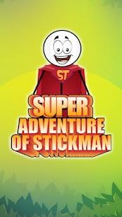 Super Adventure of Stickman - náhled