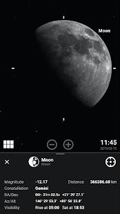 Stellarium Mobile PLUS - Star Map Screenshot