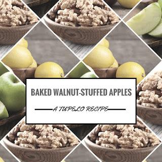 Baked Walnut-Stuffed Apples