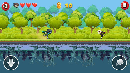 Ninja Run Up and Down apkmind screenshots 3