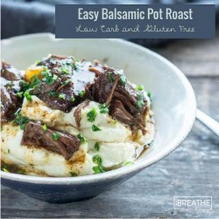 Easy Balsamic Beef Pot Roast