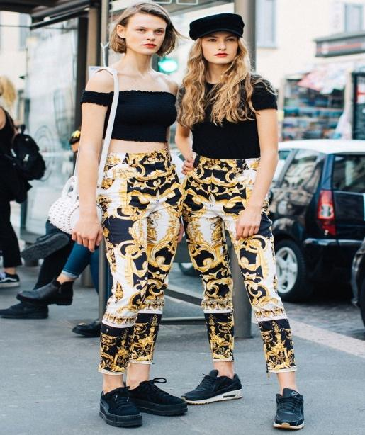 Matching outfit Street fashion