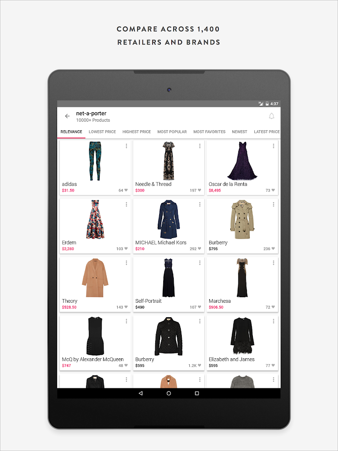 ShopStyle : Shopping & Fashion- screenshot