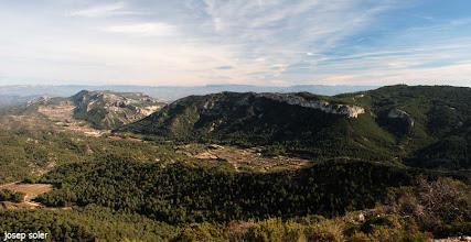 Photo: Serra de Cavalls i Serra de Pàndols, escenari dels combats més acarnissat de la Batalla de l'Ebre.