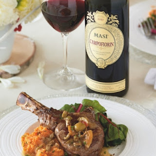 Roasted Veal Chops with Lemon and Olives
