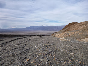 Photo: Mosaic Canyon, at the mouth. Lots of terraces.
