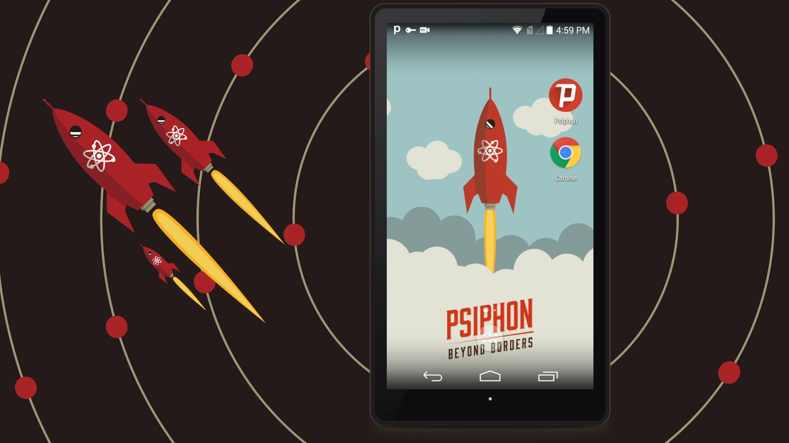 Psiphon pro the internet freedom vpn screenshot
