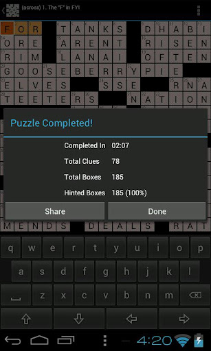 Daily Newspaper Crossword Puzzles  Mod screenshots 4