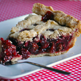 Homemade Triple Cherry Pie