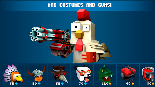 Mad GunZ -  online shooter apk screenshot