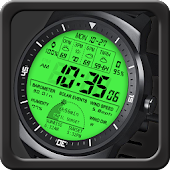 F03 WatchFace for Android Wear Smart Watch