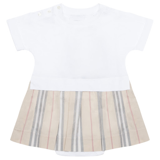Primary image of Burberry Baby Jersey Dress